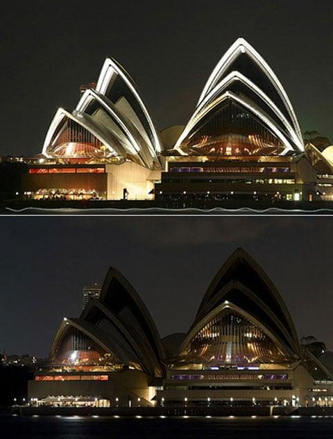 Zhasněte světlo: světová hlavní města zapínají tmu